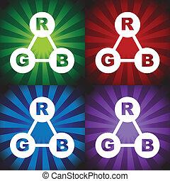 color, rgb, espectro