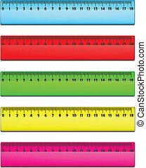 Color Ruler Set