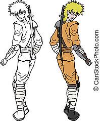 Color samurai - Creative design of color samurai