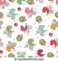 Color seamless children background
