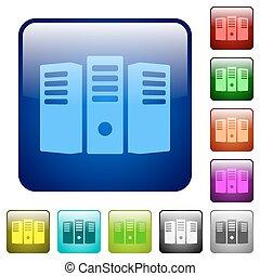 Color server hosting square buttons