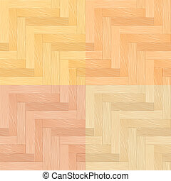 Parquet - Color Set of Parquet Seamless Pattern....