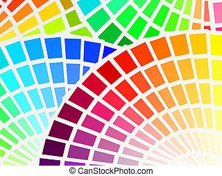 color spectrum background