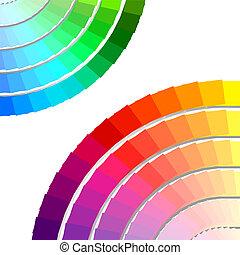 color spectrum palette