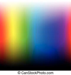 Spectrum Of Visible Light Color Wheel Design