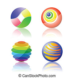 color spheres
