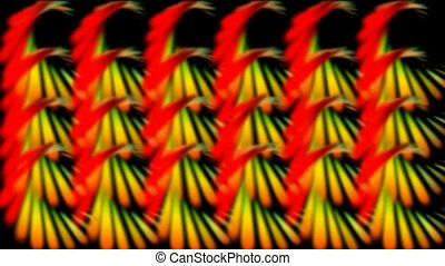 color spiral pattern,like as feather