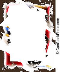 Color Splash Border