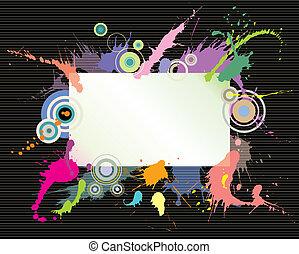 Color Splash Sign
