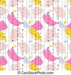 Color spots summer seamless pattern