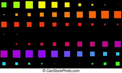 color square matrix background