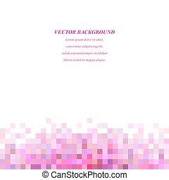 Color square mosaic background design template