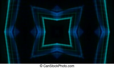 color square neon light,flare laser