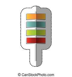 color square route advices icon