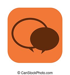 color square with speech bubble icon