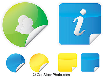 Color Stickers Icons