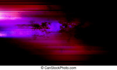 Color streaks particles looping abstract background -...