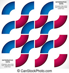 color strip pattern