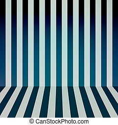 Color stripes background, room interior. Vector illustration