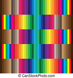 Color swatch CMYK
