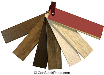 Color Swatch for Flooring Cutout