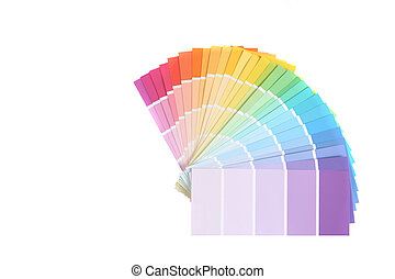 Color Swatches of Paint Samples for Remodeling - Color...