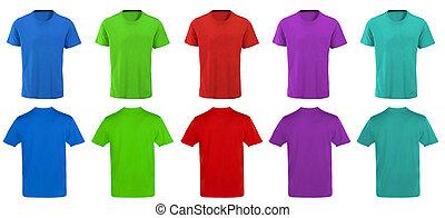 Color t-shirts design