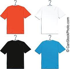 Color T-shirts set