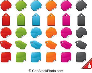 Color Tags Set