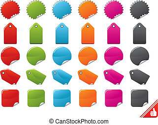 Color Tags Set