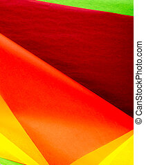 Color Tissue Paper Background. Texture of Thin Paper for Handicrafts
