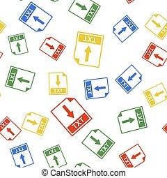 Color TXT file document icon. Download TXT button icon ...