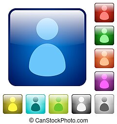 Color user square buttons