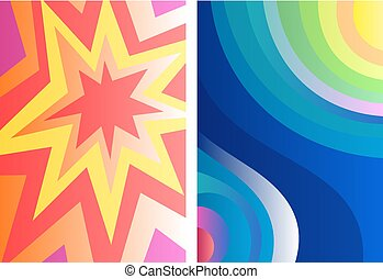 Color vector backgrounds