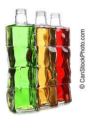 Color vine bottles