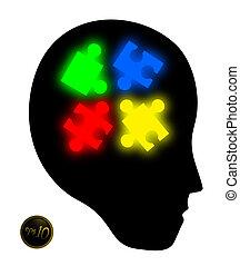 Creative design of color visual
