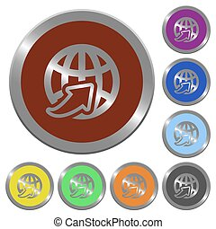 Color worldwide buttons