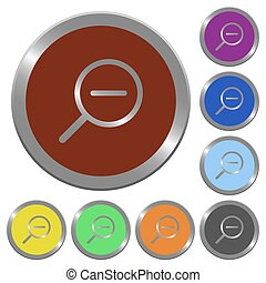 Color zoom out buttons