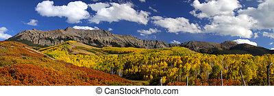 colorado, automne