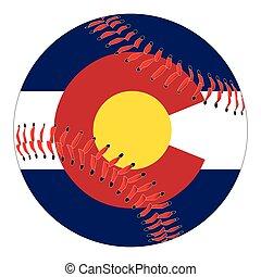 Colorado Flag Baseball