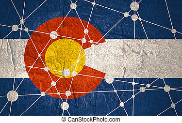 Colorado flag concept