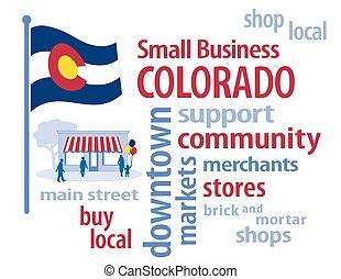 Colorado Flag Small Business