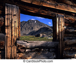 Colorado Ghost Town - A ghost town in the Colorado Mountains...