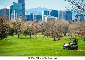 Colorado Golf Field