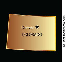colorado, guld, tillstånd kartlagt