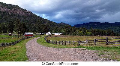 Colorado Homestead - Farm located outside of Breckenridge,...