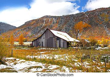 Colorado in late autumn