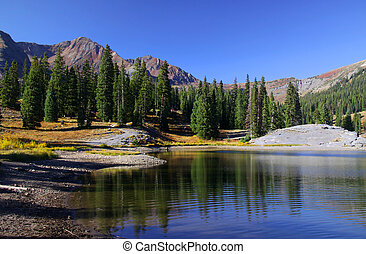 Colorado landscape - Beautiful landscape in Colorado in...