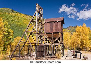 Colorado Mine in Autumn