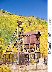 Colorado Mine in Fall